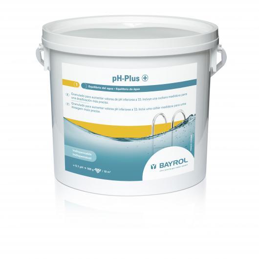 Aumentador de pH 5 kg pH-Plus Bayrol