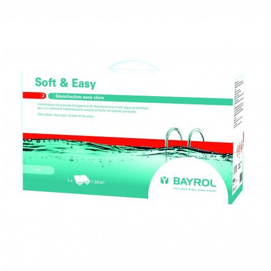 Oxígeno activo sin cloro 4.5 kg Soft & Easy Bayrol