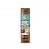 Bolachas de flocos aveia integral com pepitas chocolate Biocop, 250 g