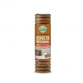 Bolacha espelta integral, chocolate e avelãs, Biocop, 250 g