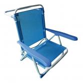Espreguiçadeira de praia reclinável