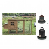 Lyon wooden chicken coop starter pack