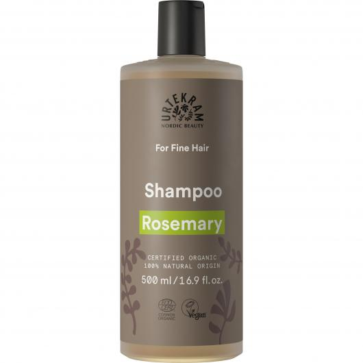 Shampooing au romarin pour cheveux fins Urtekram, 500 ml