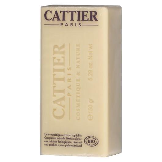 Jabón de manteca de Karité para pieles secas y sensibles Cattier, 150 gr