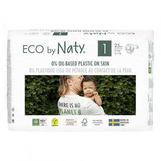 Couches n°1 Naty 2-5 kg, 26 pièces