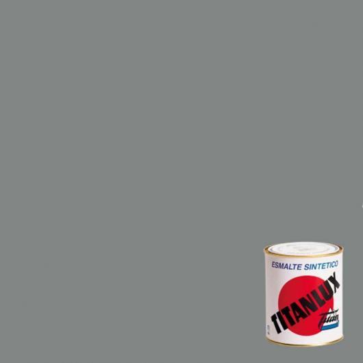 Peinture synthétique brillant Titanlux GRIS BLEUTÉ 750 ml