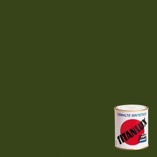 Peinture synthétique brillant Titanlux VERT KAKI 750 ml