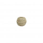 Corda de sisal natural, 0,8cm, 2 cabos, 50 g