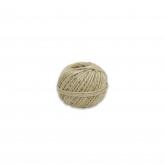 Corda de sisal natural, 0,8cm, 2 cabos, 100 g