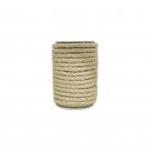 Corda de sisal natural, 8mm, 15m