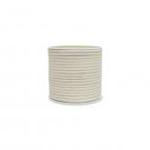 Corda di cotone 100% bianco naturale 4mm / 55 m