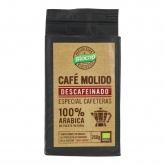 Café descafeinado moído 100% arábica Biocop, 250 g