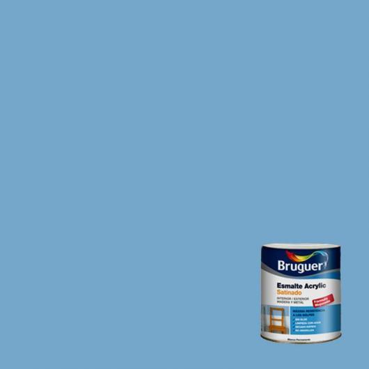 Peinture acrylique satiné laqué Acrylic BLEU CIEL