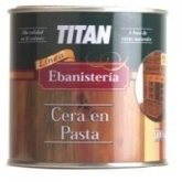Cera en pasta incolora Titanlux 250 ml