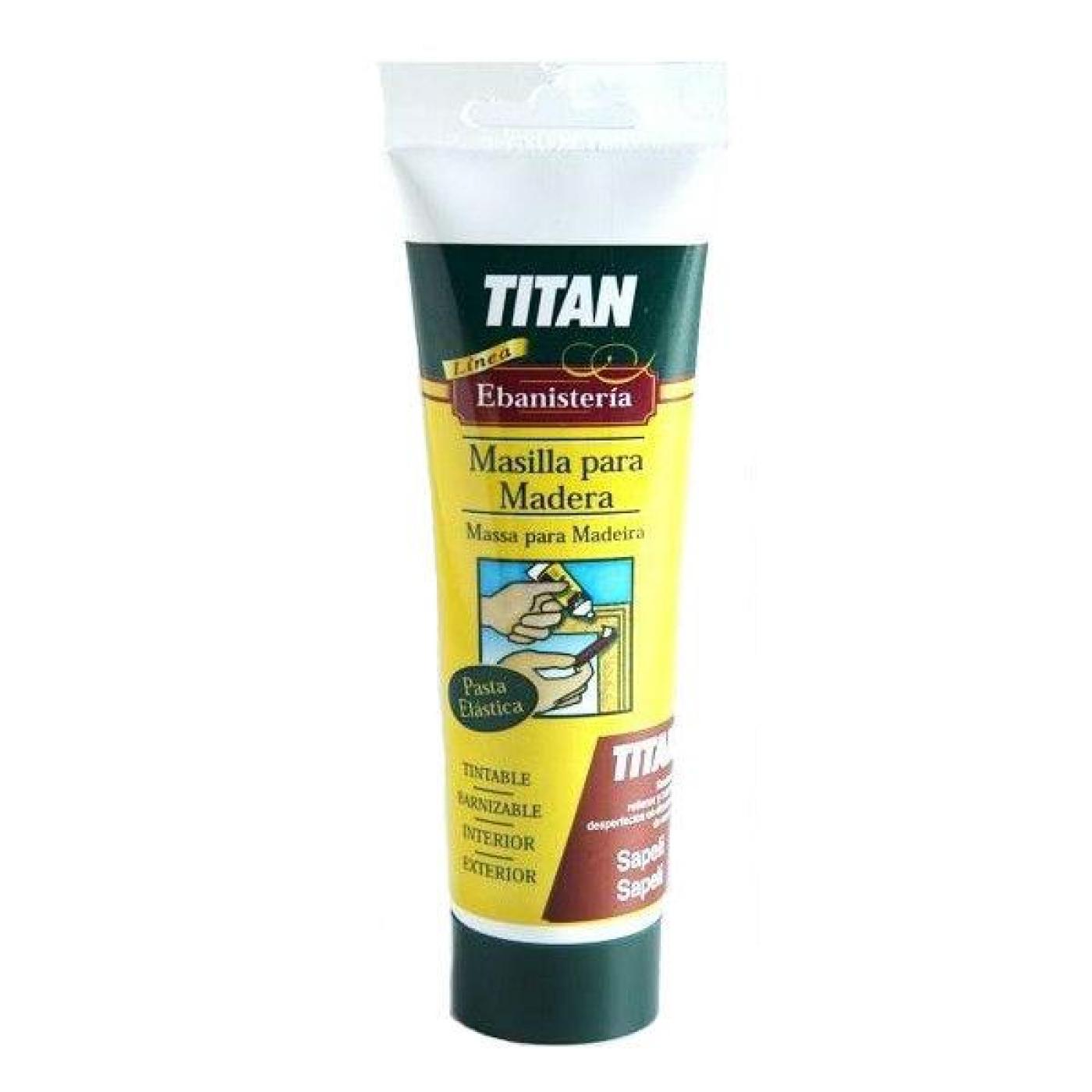 Masilla para madera roble titanlux 125 ml por 3 50 en - Masilla para madera casera ...