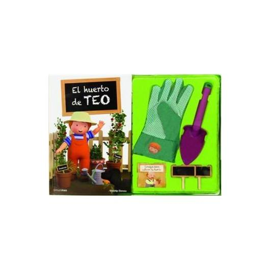 El huerto de Teo + Guante, Pala y Etiquetas