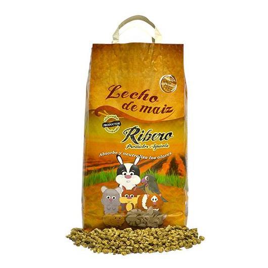 Lecho de maíz para animales domésticos 5 kg Ribero