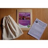 Bolsa de algodón orgánico para germinados y bebidas vegetales