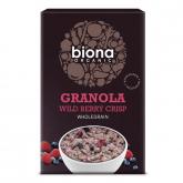 Muesli croccanti  frutti rossi Biona 375g