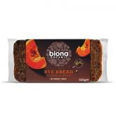 Pane di segale con semi di zucca Biona 500g