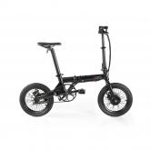 Bicicleta elétrica desdobrável Fun Bike Oops, preto