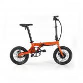 Bicicleta elétrica desdobrável Fun Bike Oops, laranja