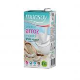 Bevanda di riso al cocco biologico Monsoy 1l