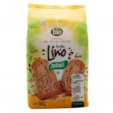 Fette biscottate integrali con lino BIO Santiveri, 300g