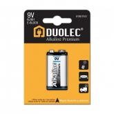 Pila super alcalina 6LR61 1 unidad Duolec