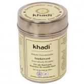 Maschera per il viso al Sandalo per pelli macchiate, pori dilatati Khadi, 50 g