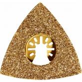 Grosa triangular Worx de metal duro para ferramentas multifuncionais