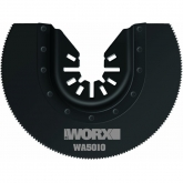 Lit di 3 lame da sega segmentata Worx HSS 80mm