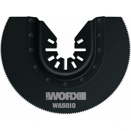 Jeu de 3 lames de scie segmentée Worx HSS 80 mm