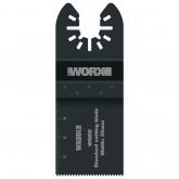 Folha de serra Worx com 35 mm de uso standard