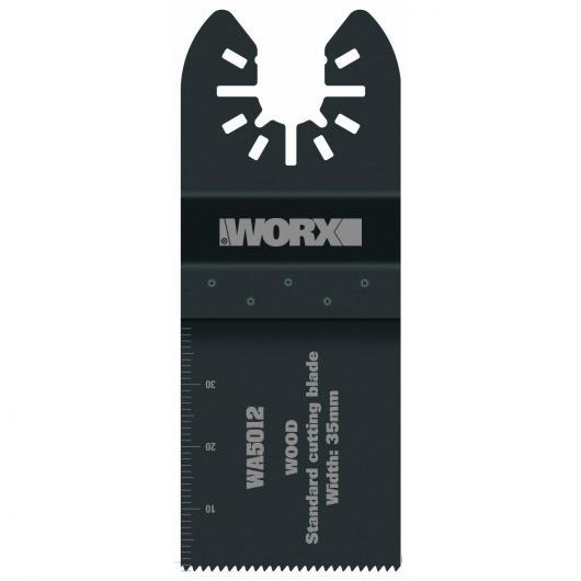 Jeu de 3 lames de scie Worx 35 mm usage standard