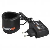 Cargador Worx de 3 horas para baterías WA3725 12 V