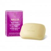 Jabón vegetal de Rosa en pastilla 100 g Weleda