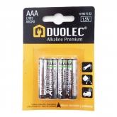 Pile super alcaline AAA 4 pièces LR03 Duolec