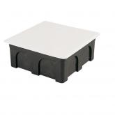 Cassa di giunzione quadrata con coperchio metallico 160x100x50 mm Famatel