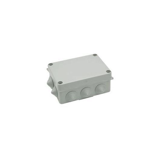 Caja empalme estanca con tornillos y 10 conos para tubos 153x110x63 mm Famatel