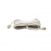 Câble téléphonique mâle / mâle 4 m Axil