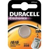 Pila botón litio CR1616 3 V Duracell