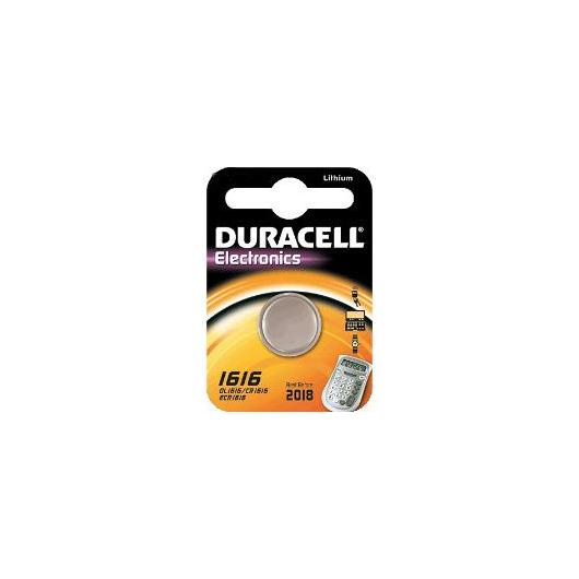 Pila bottone litio CR1616 3 V Duracell