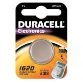Pila bottone litio CR1620 3 V Duracell