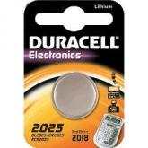 Pila bottone litio CR2025 3 V Duracell