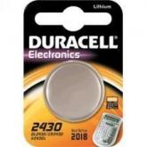 Pila bottone litio CR2430 3 V Duracell