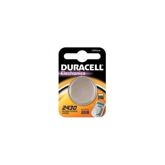 Pile bouton au lithium CR2430 3 V Duracell