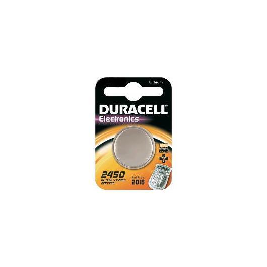 Pila botón litio CR2450 3 V Duracell