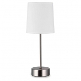 Lampada da tavolo Style 28W E14 Bianca Duolec