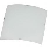 Plafón cuadrado Mónaco 30x30 cm 2x20W E27 Duolec